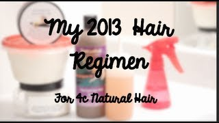 EASY & SIMPLE Natural Hair Regimen (4C Hair Type)