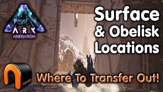 ARK ABERRATION SURFACE & OBELISK LOCATIONS