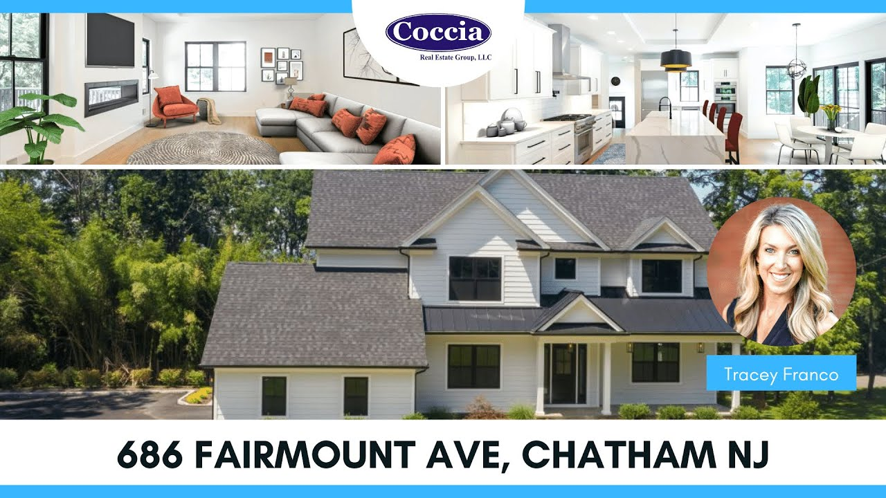 686 Fairmount Ave | Homes for Sale Chatham NJ | Morris County