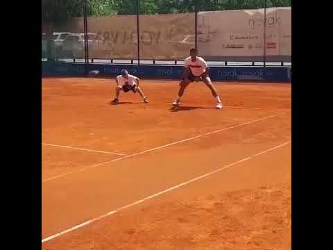 Novak Djokovic warm up  before playing | Novak Djokovic Full Warm Up | Novak Djokovic Practice