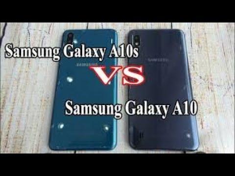 SAMSUNG GALAXY A10 Vs A10S SPEED TEST