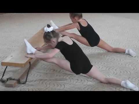 Открытый урок по художественной гимнастике (Самара) 2015