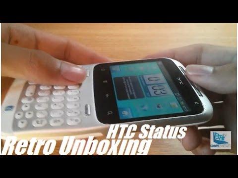 Retro Unboxing: HTC Status Facebook Smartphone?!