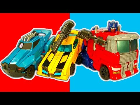 Transformers Optimus Prime Generations 9 Step Epic Rescue Bots Robot Toys