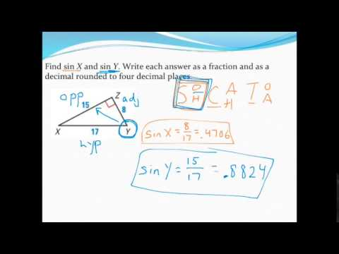 trigonometric ratios worksheet 2 answers