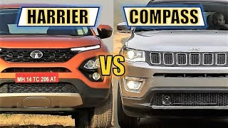 TATA HARRIER VS JEEP COMPASS - FULL COMPARISON