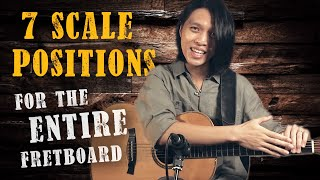 7 Scale Positions To UNLOCK The ENTIRE Guitar Fretboard