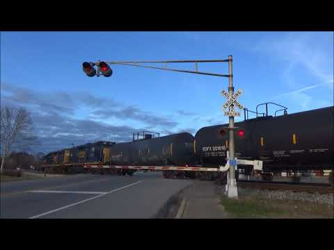 CSX Local Freight Switching in Wartrace, TN (L-OS)