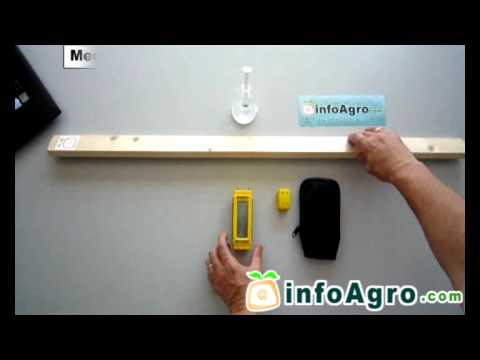Medidor de humedad con pic doovi - Detector de humedad para suelos y paredes ...