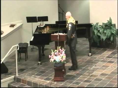 2014 08 02 Pastor David Glenn   Master Guide Investiture
