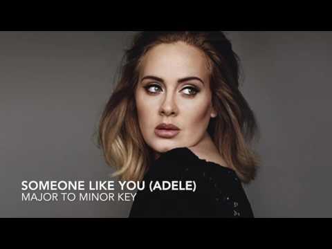 SOMEONE LIKE YOU (ADELE) - IN A MINOR KEY!!!