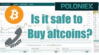 Is it safe to buy altcoins when the they're down? (daytrading)