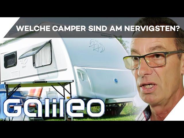 90.000m² für Campingfans! -  10 Fragen an einen Campingplatz-Betreiber   Galileo   ProSieben