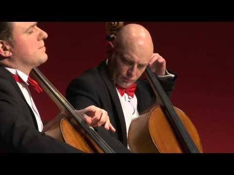 Excerpts from a concert: Giora Feidman & Rastrelli Cello Quartett ,