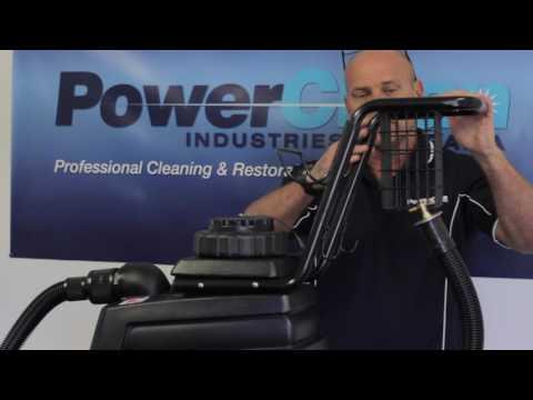 Mytee Lite II Heated carpet cleaning extractor