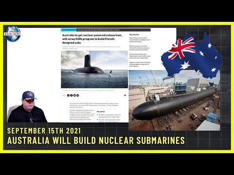 Australia Will Build Nuclear Submarines