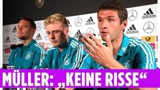 """Thomas Müller: """"Es gibt keine Risse im Team""""   Nations League"""