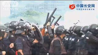中国がデモ鎮圧訓練 香港を牽制する狙いか(19/08/07)