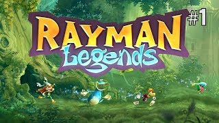 Twitch Livestream | Rayman Legends 100% Playthrough Part 1 [Xbox One]