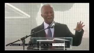 Thabo Mbeki talking about land