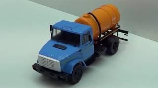Легендарные грузовики СССР №5 КО-520 на базе ЗиЛ 4333 MODIMIO