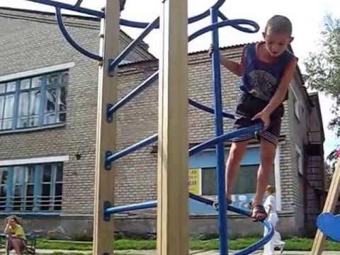 Детская площадка г.Сольвычегодск