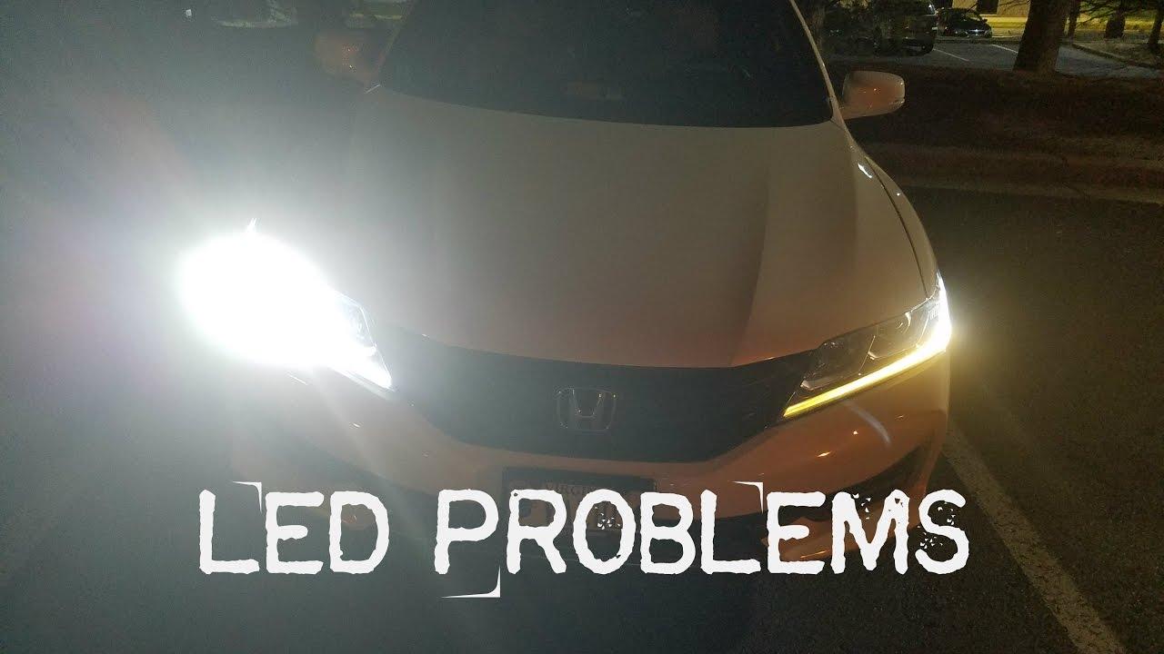 2016 Honda Accord Led Drl Problem