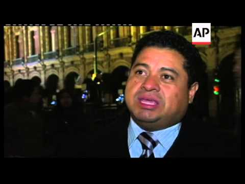Thousands celebrate centennial anniv of Mexican revolution