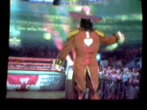 Dick Foley Entrance On WWE Smackdown Vs Raw 2009