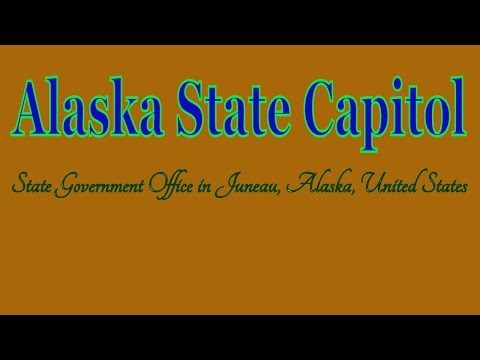 Visiting Alaska State Capitol, State Government Office in Juneau, Alaska, United States