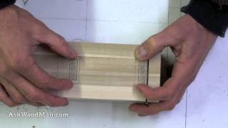 4 Of 23 • Wood Routers: How To Make A Jig To Route A Tapered Fluted Leg