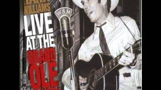 Hank Williams Moanin The Blues////