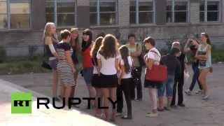 Школьников Донецка переводят на домашнее обучение