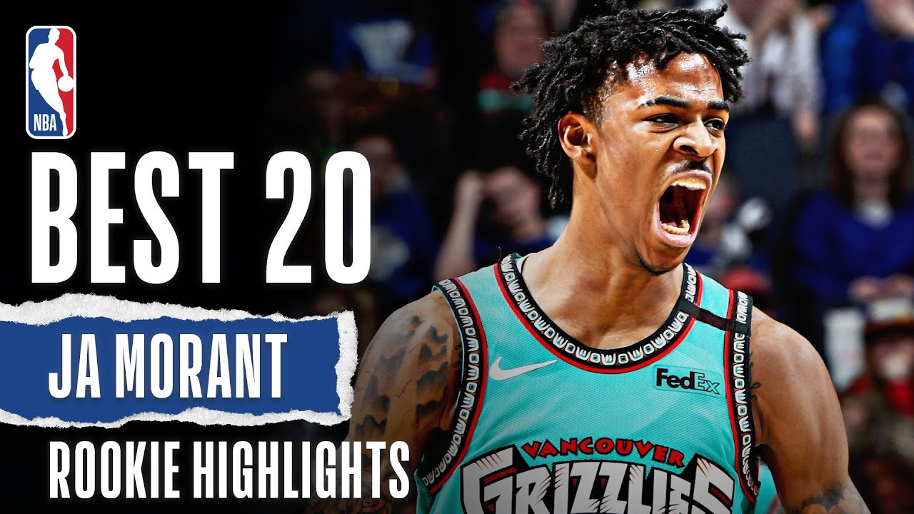 Ja Morant's 20 BEST Rookie Highlights