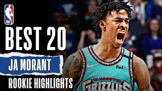 Ja Morant's 20 BEST Rookie Highlights