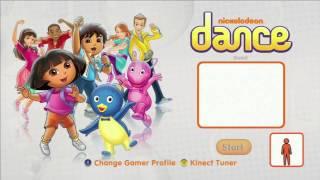 Nickelodeon Dance Title Screen (Xbox 360, Wii)