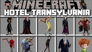 Minecraft HOTEL TRANSYLVANIA MOD / HELP UNUSUAL GUESTS AROUND THE HOTEL!! Minecraft