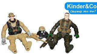 Скачать Cталкер Метро 2033 и снайпер 2 солдатика Обзор фигурок игрушек бойцов