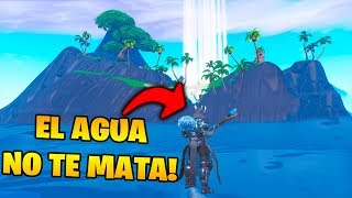 NEW SECRET ISLAND IN PATIO OF GAMES!! FORTNITE 😱