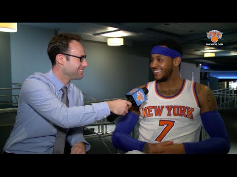 """Exclusive 1-on-1 with Carmelo Anthony: """"The Time Is Now"""""""