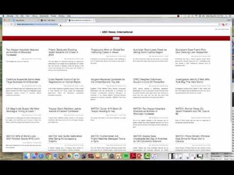 RSS feeds EDTECH 501
