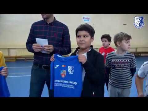 """""""Joacă fotbal cu FC Farul Constanța"""", revine la Școala nr. 43 Ferdinand Constanța"""