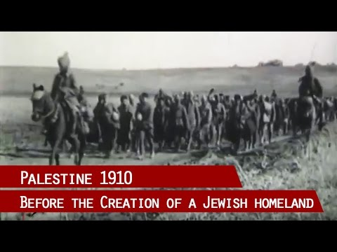 First pictures from Palestine - Jerusalem historical impressions 1900 - 1918