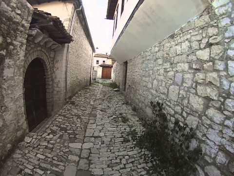 Streets Near Berat Castle