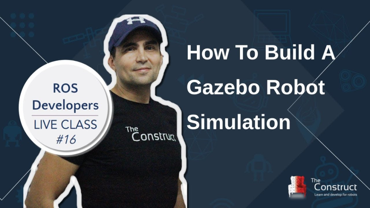 All about Gazebo ROS (Gazebo 9) | The Construct
