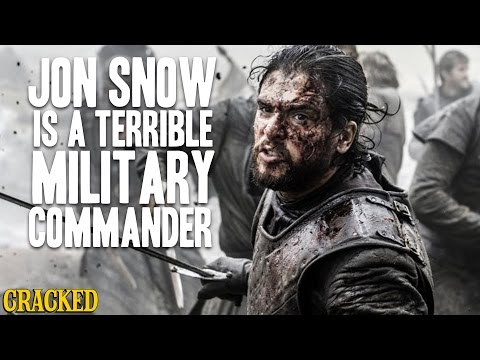Jon Snow Is A Terrible Military Commander -  Winter is Taking Forever