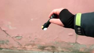 Crush test  Armytek Elf C2 - об бетон с 2 метров