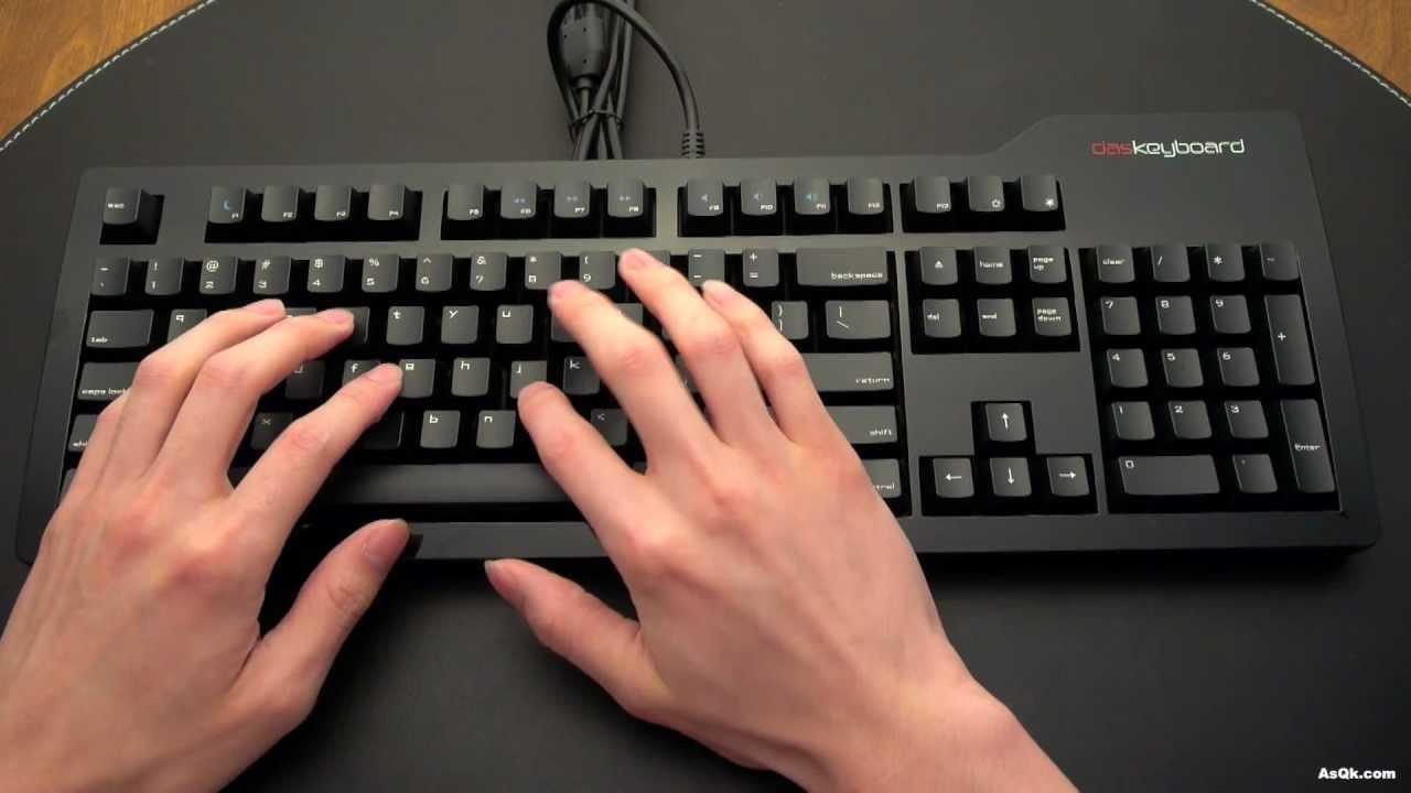 Review - Das Keyboard Mac Version - YouTube