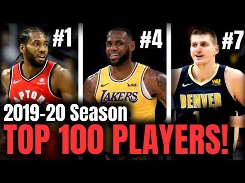 My TOP 100 NBA Player List - FULL