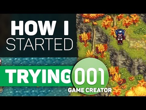 TRYING 001 GAME CREATOR - How I Got Started!